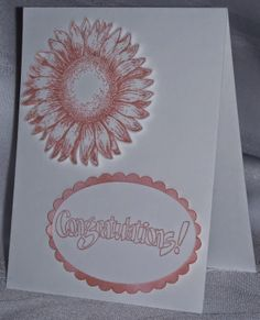 Mashed Potatoes and Crafts: Simple Wedding Card Tutorial