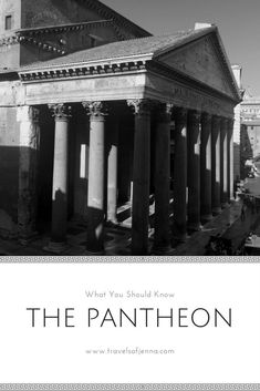 Explore the Pantheon in this post and find out how long you have left to visit  for free. #rome #italy #pantheon