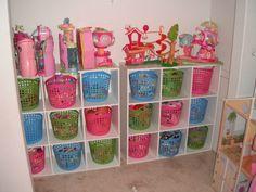 organize kid's toys