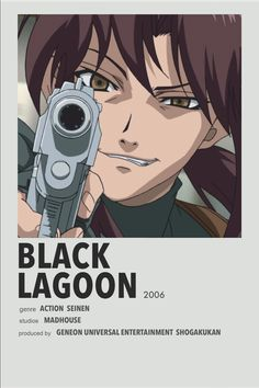 Best Animes To Watch, Black Lagoon Anime, Anime Cover Photo, Anime Suggestions, Anime Reccomendations, Anime Watch, Manga Covers, Anime Films, Cartoon Pics