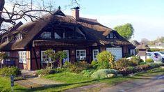 Start unserer Malreise auf der Insel Rügen | Landhaus to hus der Familie Grünheid in Middelhagen (c) Frank Koebsch