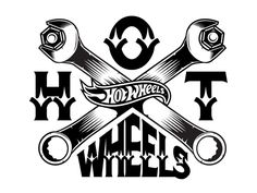 Lincoln Design Co. is a brand design and creative agency located in Portland, Oregon. Hot Wheels Party, Hot Wheels Birthday, Wheel Logo, Brush Background, Cricut, Car Logos, Pattern Images, Cool Patterns, Traditional Tattoo