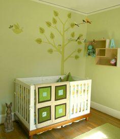 quarto de bebê.