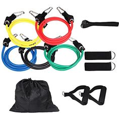 Resistance Band ... Power Systems Premium Double Versa-Tube with Padded Handles Fitness & Jogging