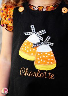 Positively Splendid {Crafts, Sewing, Recipes and Home Decor}: Candy Corn Halloween Jumpers