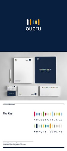 Oxford University Clinical Research Unit branding system << excellent execution