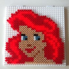 Ariel perler beads by dementhea