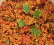 Neue Variation von Couscous-Salat - Partymenge