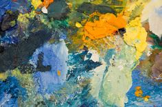 Monet's abstract Soleil Levant