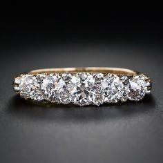 Antique Victorian Five-Stone Diamond Ring