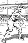 For the Kids: Baseball Coloring Pages added - 46 coloring pages