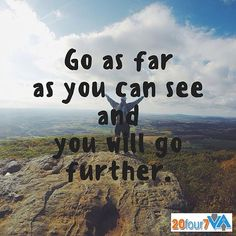 Go as far as you can see and you will go further. #MotivationMoment #20four7va #igerspinoy #workfromhomemom #wfh #onlinejobph #pinoy #virtualassistantsph #pinoyvirtualassistants #wfhopportunities #applynow #twitter #inspirationalquotes