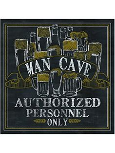 Thirstystone Occasions Coaster, Set Man Cave, Multicolor ❤ Thirstystone