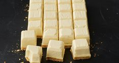 Milkybar fans will love this white chocolate cheesecake version... and you won't believe what we use to make it!