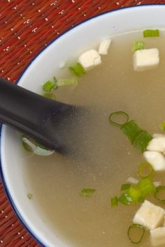 Easy Miso Soup Recipe. Dashi is simply a droth base. Michael loves miso soup. Add dry seaweed, spinach or kayle.