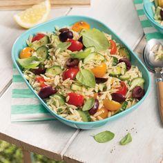 La salade fraîcheur par excellence pour les soirées estivales!