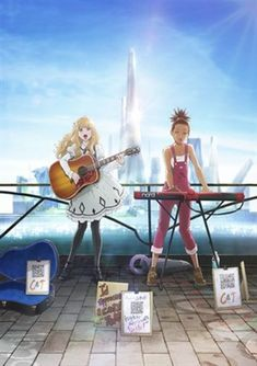 Carole & Tuesday Anime's Behind-the-Scenes Video Shows Music Recording - News - Anime News Network Cowboy Bebop, Boku No Hero Academia, Steven Universe, Interviews With Monster Girls, Tuesday Pictures, Samurai, The Voice, Anime News Network, Flying Dog