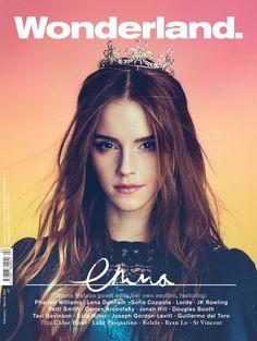 Emma Watson Covers & Guest Edits Wonderland Magazine, February-March 2014 edition