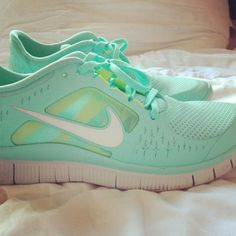 Tiffany blue nikes! Tiffany blue is my favorite color so I need this! :)