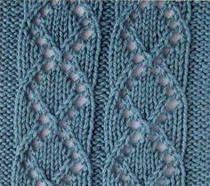 Pattern knitting medallion, eyelet pattern for knitting sweaters, socks, etc. Knitting Stiches, Knitting Charts, Lace Knitting, Crochet Stitches, Knitting Patterns, Knit Crochet, Crochet Patterns, Knitting Sweaters, Knitting Designs