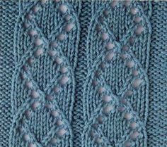 lace knit pattern stitch