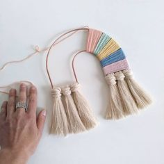 Made to order – Moon frame, Macrame frame, Tapestry Frame, Macrame supplies - Handmade crafts Yarn Crafts, Diy And Crafts, Arts And Crafts, Macrame Supplies, Modern Tapestries, Rainbow Decorations, Rainbow Crafts, Woven Wall Hanging, Loom Weaving
