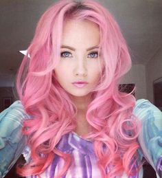If I could just live how I wanted, I would so have pink hair!