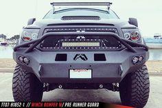 Fab Fours Heavy Duty Winch Bumper for 2007-2015 Tundra
