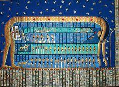 The #Mythology of #Nut, Mother of Gods