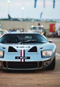 (by Luke Alexander Gilbertson) Ford Gt40, Ferrari, Ford Motor Company, Us Cars, Race Cars, Le Mans, Ford Focus, Focus Rs, Hot Rides