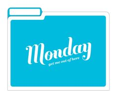 Amazon.com : Knock Knock File Folders, Set of 6, Days of The Week : Colored File Folders : Office Products