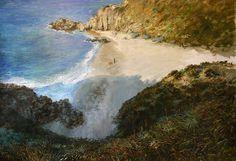 conversación con una estrella de mar Painters, Landscape Paintings, Outdoor, Starfish, Mountain Range, Stars, Scenery, Art, Outdoors