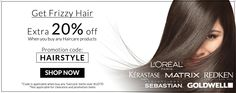 AUD 20% Off any Haircare products. | AU.COSME-DE.COM