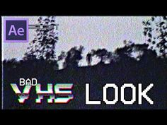 Suuuup! I'm showing you today how to achieve this old VHS film with those horizontal lines that show up when there's camera movement, enjoy and subscribe!