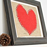 A simple and fun craft to make some Valentine's Day art.  Just ne… :: Hometalk