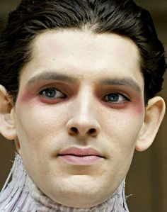 Colin Morgan as Ariel in the tempest
