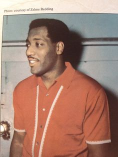 Otis Redding in a groovy shirt. Courtesy of Zelma Redding.