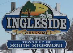 Ingleside, Ontario.  Township of South Stormont.