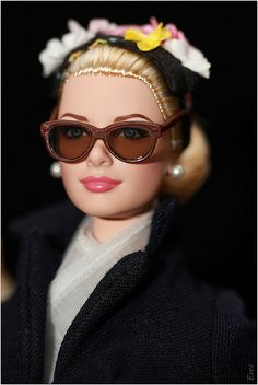 "Grace Kelly ""The Romance"" Silkstone Barbie: 310 pins. Barbie I, Barbie World, Barbie And Ken, Barbie Clothes, Barbies Dolls, Dolls Dolls, Patricia Kelly, Grace Kelly, Chic Chic"