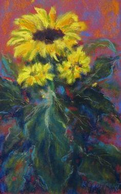 Autumn Delight 22 x 14 cm Pastel Painting by Karin Goeppert Soft Pastel Art, Pastel Drawing, Pastel Paintings, Art Paintings, Art Techniques, Chalk Paint, Colored Pencils, Flower Art, Still Life