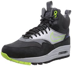 timeless design 5c946 54f12 Nike Womens Air Max 1 Mid Sneakerboot WP Waterproof Size 6   Check out the  image by visiting the link. (This is an affiliate link). Women s Athletic  Shoes