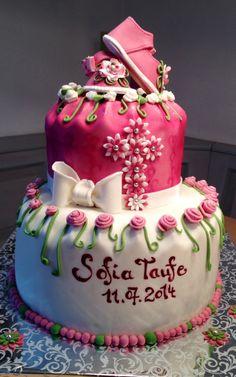 Torte für Taufe
