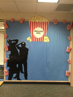 hollywood theme for outside live the marquee bulletin boards and