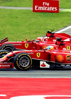 On Track w/Scuderia Ferrari for the 2014 #F1 Grand Prix of Hungary