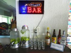 bar + caipirinhas