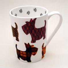 Liz Cox Scottie Dog Mug