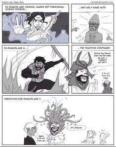 Dragon Age, Mage hats