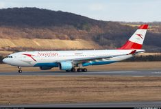 - Photo taken at Vienna - Schwechat (VIE / LOWW) in Austria on February Austrian Airlines, Airbus A330, International Airlines, Aircraft Pictures, Aviation, Photos, Airplane, Wings, Group