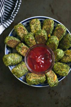 Low-Carb Broccoli Tots Recipe – These veggie packed tots make a delicious, healthy and dairy-free snack/appetizer for you anytime of the day!