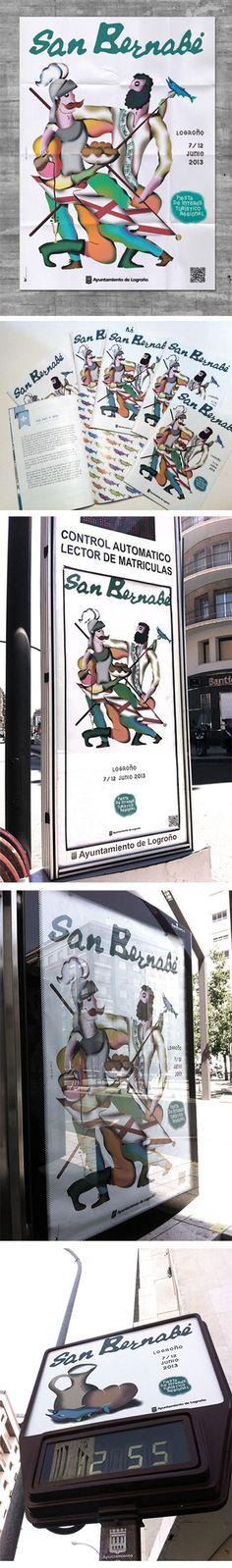 San Bernabé Identity Logroño 2013 Frän Alðnssön Office Supplies, Notebook, Exercise Book, The Notebook, Journals